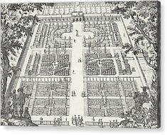 Garden Design From The Gardens Of Wilton Acrylic Print
