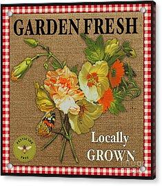 Garden Fresh-jp2387 Acrylic Print by Jean Plout
