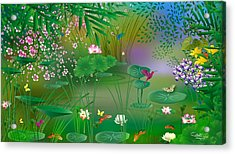 Garden - Limited Edition 1 Of 20 Acrylic Print