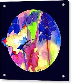 Garden Gate Mandala Acrylic Print