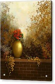 Garden Golds Acrylic Print
