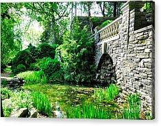 Garden Grotto Acrylic Print
