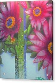 Garden Guardian Acrylic Print