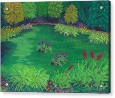 Garden In The Woods Acrylic Print
