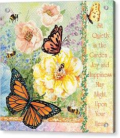 Garden Joy Acrylic Print