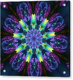Garden Majestry Acrylic Print