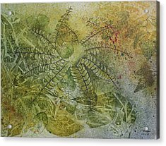 Garden Mist Acrylic Print