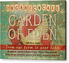 Garden Of Eden Acrylic Print by Marilu Windvand