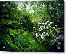 Garden Of Enchantment Acrylic Print