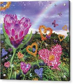 Garden Of Love 2 Acrylic Print