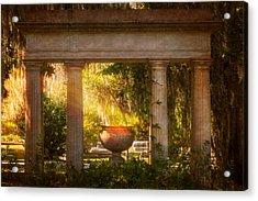 Garden Of Resurrection Acrylic Print by Mark Andrew Thomas