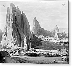Garden Of The Gods 1915 Acrylic Print