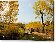 Garden Of The Gods Bridge Acrylic Print