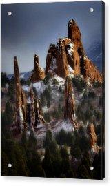 Acrylic Print featuring the photograph Garden Of The Gods by Ellen Heaverlo