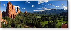 Garden Of The Gods Panorama At It's Best Acrylic Print by John Hoffman