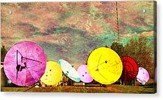 Garden Of Unearthly Delights II Acrylic Print by MJ Olsen