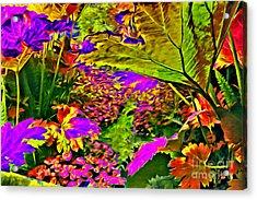 Garden Of Color Acrylic Print