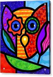 Garden Owl Acrylic Print