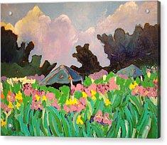 Garden Party 2 Acrylic Print