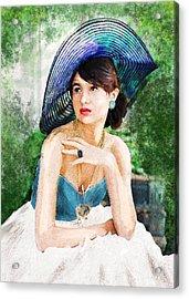 Garden Party Acrylic Print by Jane Schnetlage