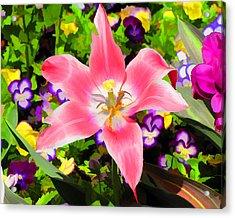 Garden Party Acrylic Print by John Freidenberg