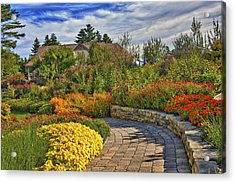 Garden Path Acrylic Print by Jill Brooks