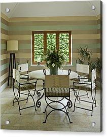 Garden Room Acrylic Print by Phototropic