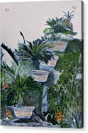 Garden Scene 2 Acrylic Print