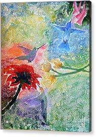 Garden Song Acrylic Print