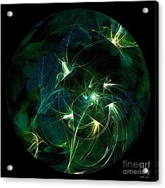 Garden Sprites Come At Night Acrylic Print