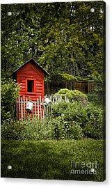 Garden Still Life Acrylic Print by Margie Hurwich