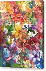 Garden - The Secret Life Of The Leftover Paint Acrylic Print