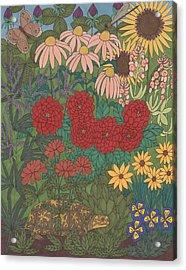 Garden Treasures Acrylic Print