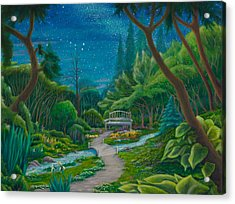 Garden Under Ursa Major Acrylic Print
