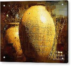 Garden Urns Acrylic Print