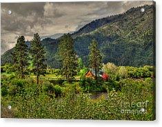 Garden Valley Acrylic Print