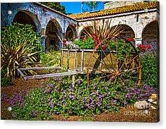 Garden Wagon Acrylic Print