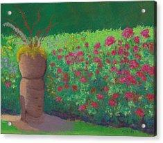 Garden Welcoming Acrylic Print
