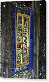 Garden Window Acrylic Print