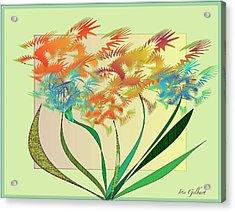 Garden Wonder Acrylic Print by Iris Gelbart