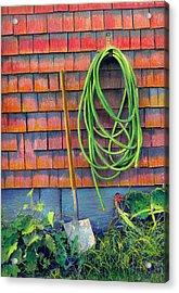 Gardener's Rest Acrylic Print