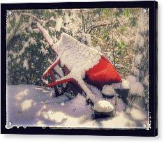 Gardener's Winter Dream Acrylic Print