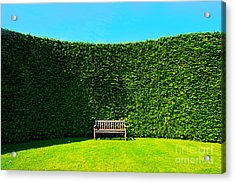 Gardening Zones Acrylic Print by Boon Mee