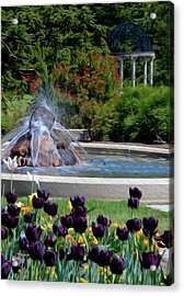 Gardens At Maymont Acrylic Print by Kelvin Booker
