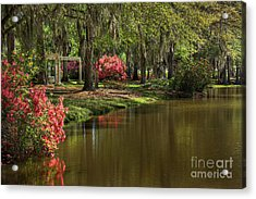 Gardens Of The South Acrylic Print