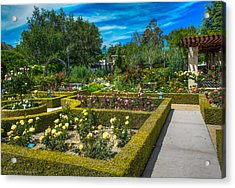 Acrylic Print featuring the photograph Gardens Of The World by Ross Henton