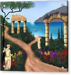 Gardens Of Venus Acrylic Print