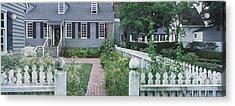 Gardens Williamsburg Va Acrylic Print by Panoramic Images