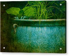 Gardenscape Acrylic Print by Amy Weiss