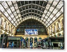 Gare Du L'est Acrylic Print